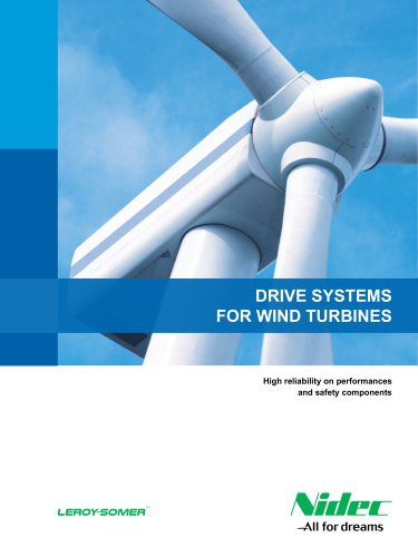 Drive systems for wind turbines