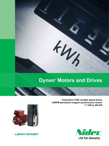 Dyneo Drives and Motors: Powerdrive F300 + LSRPM