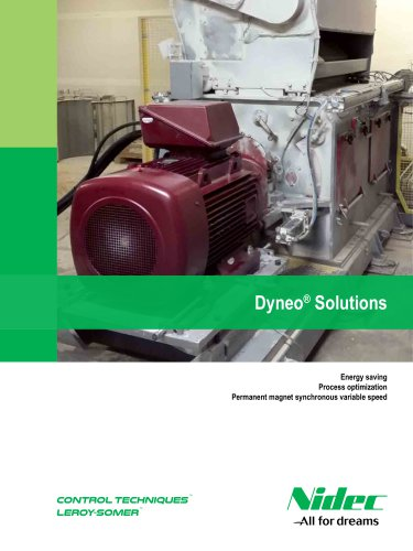 Dyneo® Solutions: Permanent magnet synchronous variable speed