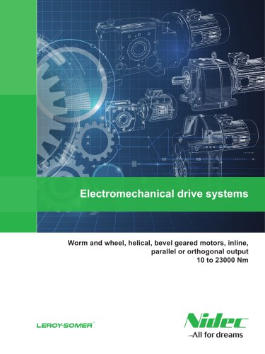 Electromechanical drive systems