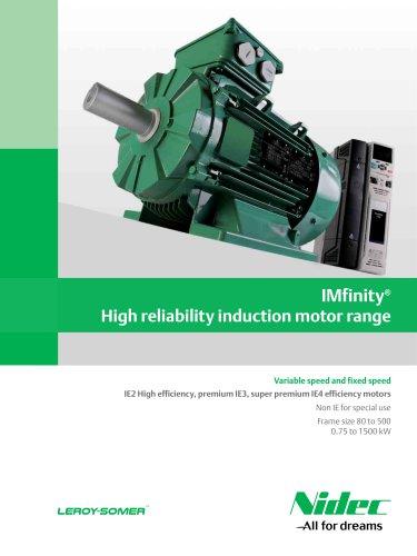 IMfinity® High reliability induction motor range