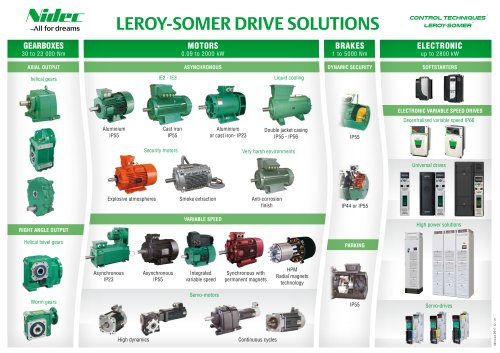 LEROY-SOMER DRIVE SOLUTIONS
