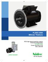 PLSES 4500, IP 23 high-speed induction motors for industrial refrigeration