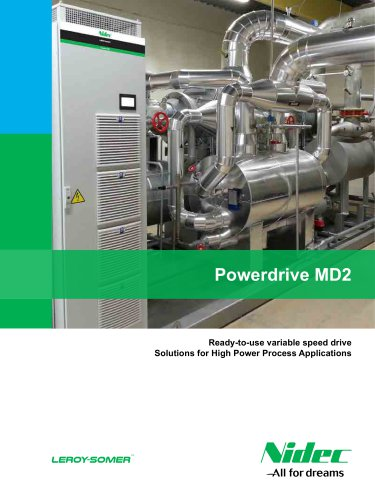 Powerdrive MD2: Ready-to-use variable speed drive