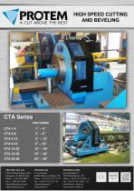 High Speed Cutting and Beveling - CTA Series