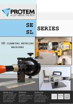 OD CLAMPING PIPE FACING MACHINES - SE SERIES