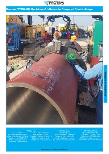 TT Series - Orbital cutting & beveling machines