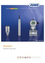 Sensors - Pressure, Level, Flow