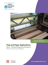 Force & Weighing measurements / Paper Industry