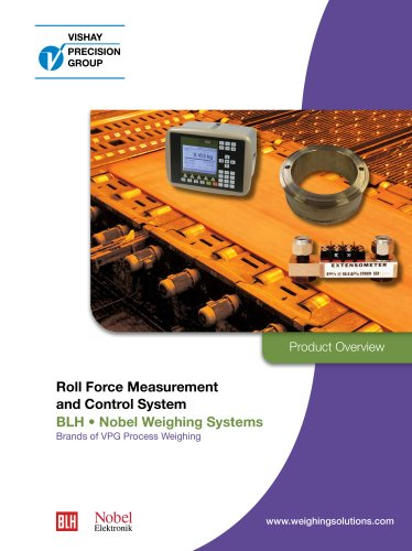 Roll Force Measurement system