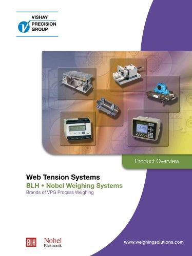 Tension measurement systems: Paper - Steel - Plastic