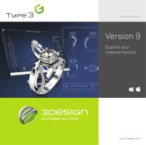 3DESIGN CAD V9 - all the new features
