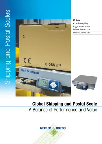 BC Shipping and Postal Scales