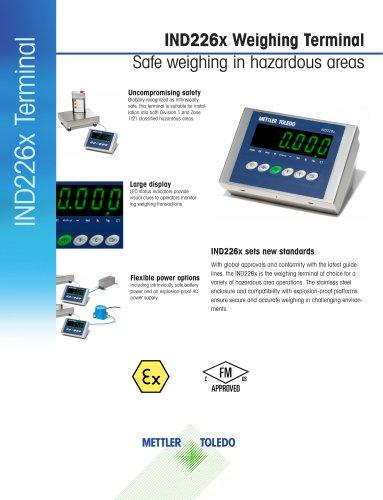 IND226x Weighing Terminal