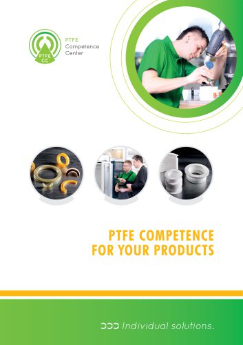 PTFE components for your products