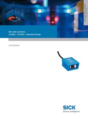Bar code scanners CLV50x / CLV503 / Standard Range