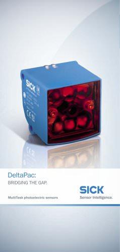 DeltaPac MultiTask photoelectric sensors