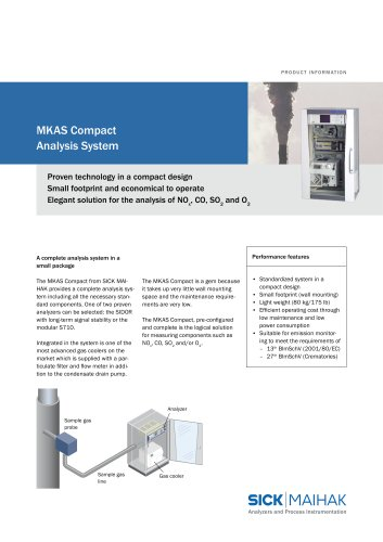 MKAS Compact Analysis system