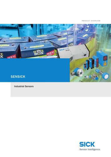 Product overview Industrial Sensors