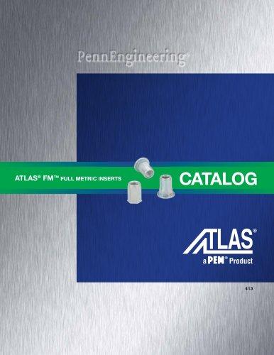 Atlas FM? Full Metric Blind Threaded Inserts