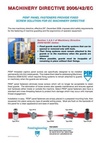 Machinery Directive 2006/42/EC