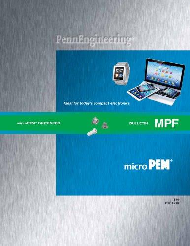 microPEM® Fasteners