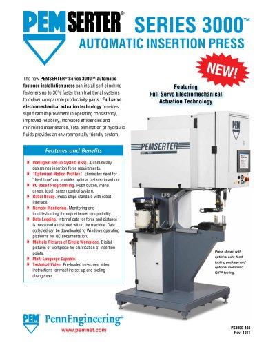 PEMSERTER Series 3000 Press