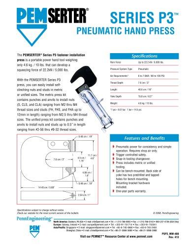 PEMSERTER Series P3? Press and Micro-Mate® Hand Tool