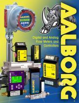 Digital and Analog Flow Meters Catalog