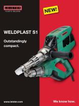 Extrusion welders WELDPLAST S1