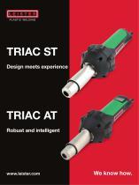 Hot-air hand tool TRIAC AT/ST