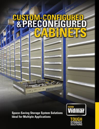 Custom-Configured & Preconfigured Cabinets Brochure