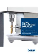 Flyer Bihler servo processing modules