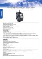 Carbon steel wafer PN 16-40 ANSI 150-300