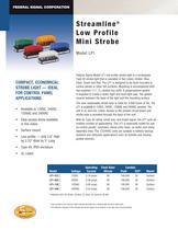LP1 StreamLine® Low Profile Mini Strobe