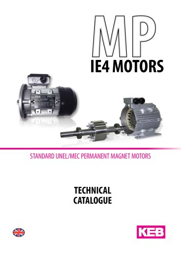 MP IE4 MOTORS