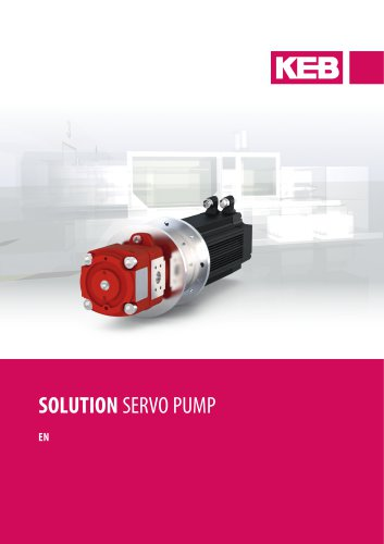 SOLUTION SERVO PUMP
