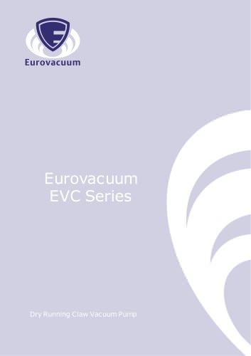EVC-series:  Single stage Dry Claw vacuum pumps