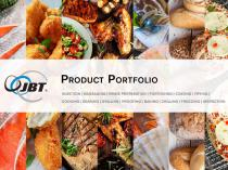 Product Portfolio by JBT